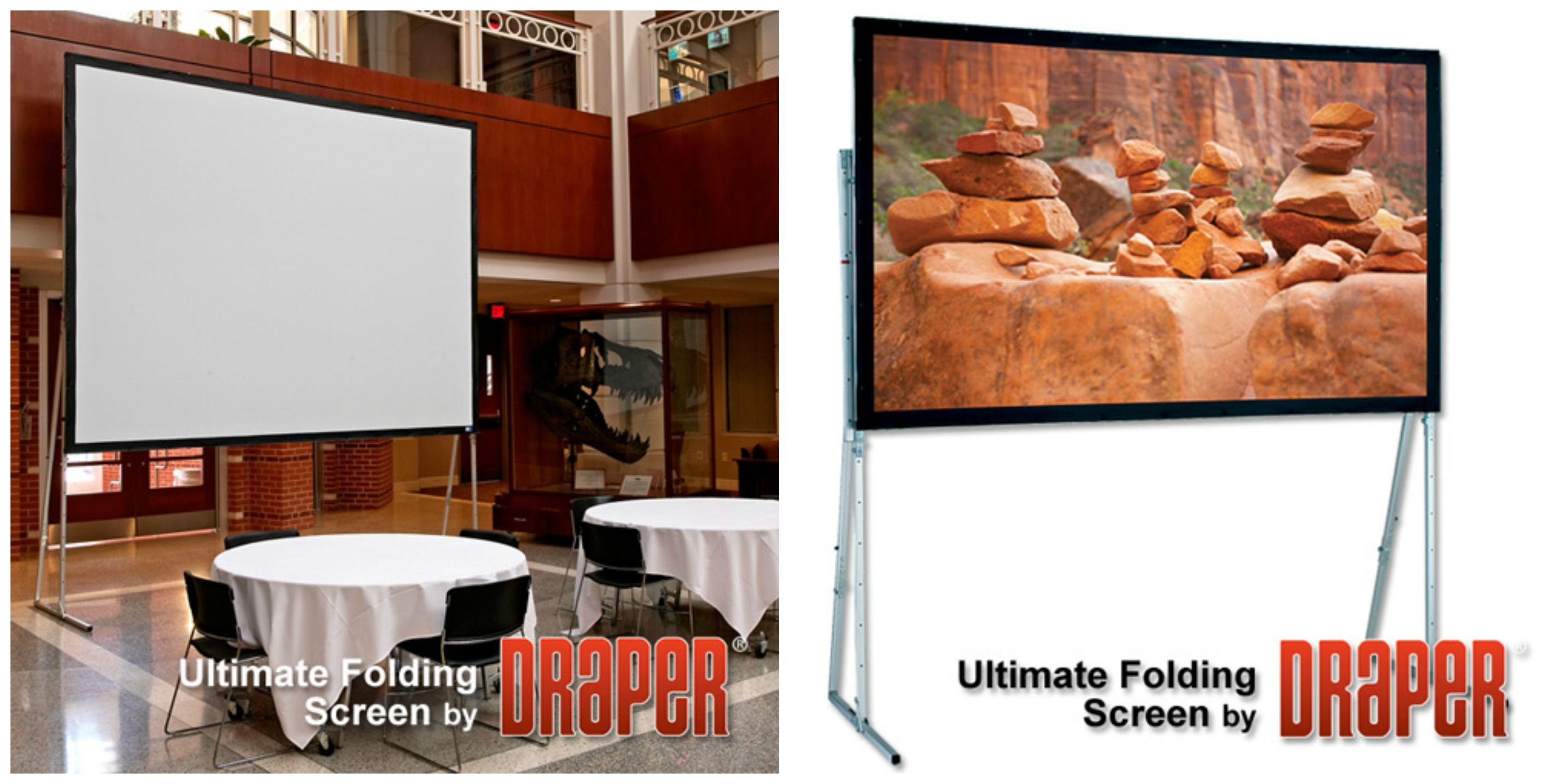 Ultimate Folding Screen - Rear Projection (Complete & Surface Only)